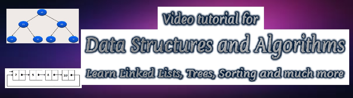 Video for Learning Data Structures with C
