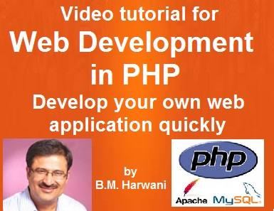 Develop your own web site using PHP